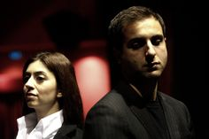IL VICARIO Roma 2008. Cinzia Spanò e Matteo Caccia (Foto di PG Rossi)