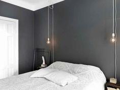 ideas grey bedroom lighting ideas for 2020 Bedside Lighting, Bedroom Lighting, Bedroom Chandeliers, Bedside Lamp, Interior Lighting, Home Bedroom, Bedroom Decor, Gray Bedroom, Master Bedroom