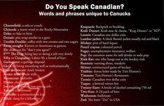 Infografia con info de Slang canadiense     Área de Toronto: Programa en casa de familia    El programa se desarrolla en comunidades situadas al suroeste de la provincia de Ontario, a una hora del centro de Toronto y a hora y media de la frontera americana y de las Cataratas del Niágara.    #WeLoveBS #inglés #idiomas #Canadá #Toronto #Ontario