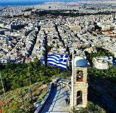 My point of view. Greek Flag, Acropolis, Wonderful Places, Athens, Paris Skyline, Photo Art, City Photo, Places To Go, Tours