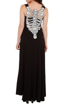 New Arrivals | Hot Topic-teenage runaway bone maxi dress