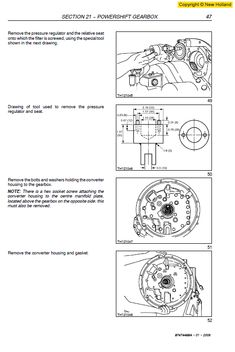 New Holland 120, 125 Rustler Service Manual in 2020 (With