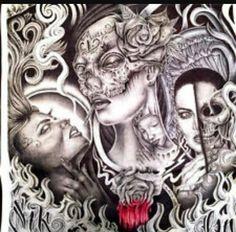 Chicano artwork