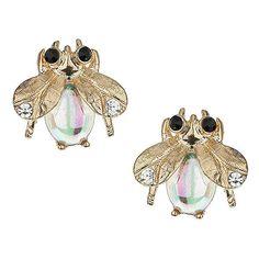 TOPSHOP Mini Bug Stud Earrings ($12) ❤ liked on Polyvore