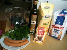 Würstchen Leckerlis für Hunde (Rezept), von clement