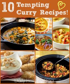 10 tempting curry recipes to warm up your day!
