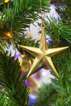 Free stock photo of decoration, christmas, xmas, gold