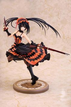 Kurumi Tokisaki is finally available in 1/7th scale #figure form! Add it to your collection!