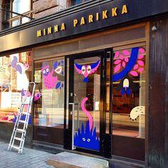 The #minnaparikka store is now a zoo! #illustration #thecatch  (paikassa Minna Parikka Universum)