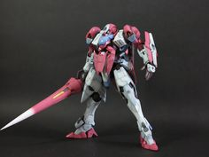 1/144 GN-X [Red, White & Blue]  Modeled by atkex