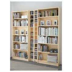 IKEA - BILLY / GNEDBY, Bookcase, birch veneer, , Adjustable shelves can be arranged according to your needs.Surface made from natural wood veneer. Ikea Bookshelves, Affordable Furniture, Bookcase, Furniture, Shelves, Living Room Furniture, Home Furnishings, Ikea Billy Bookcase, Living Room Storage