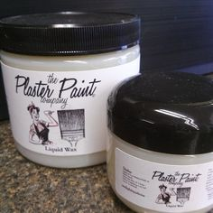 Protect your DIY projects with Plaster Paint Liquid Wax! Creates a beautiful durable finish.