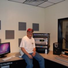 Radio studio I built for WallBuilders!