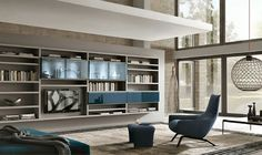 Librerías y bibliotecas que se pueden diseñar para cada espacio en el hogar