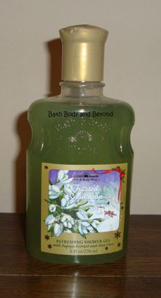 Bath & Body Works Frosted Snowdrop Shower Gel...most favorite scent...ever., wish they would bring back one Christmas :(
