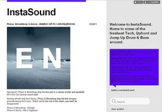 Welcome to InstaSound. Home to some of the freshest Tech, Upfront and Jump Up Drum & Bass around.