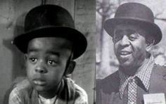 """Matthew Beard as Stymie from """"Our Gang"""" The Little Rascals. Mathew Beard led a life of crime and drugs"""