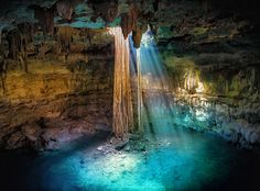 "The Mysterious world of Maya ❝ Cenote Ik Kil"" www.givingtoyou.com"