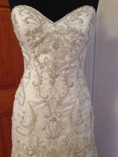 Chardonnay wedding dress maggie sottero wedding dress and ivory organza private collection modern wedding dress junglespirit Images