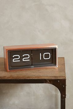 Retro Wall Clock - anthropologie.com  I'm that person that needs a clock in every room