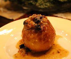Receta de manzanas de Navidad rellenas al horno, un postre fácil y casero