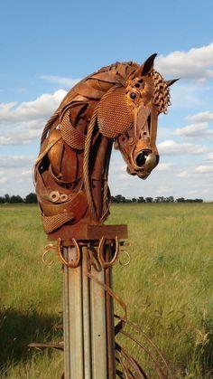John Lopez Metal Sculptures | Recyclart