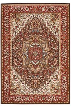 Picardy Area Rug 311x511 RED -- More info could be found at the image url.
