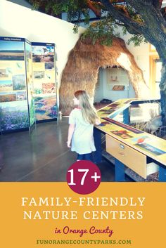 More than 17 family-friendly nature centers and interpretive centers that add meaning to park visits.