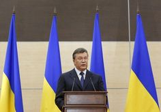 Remember Viktor Yanukovych? Just six weeks ago, he was the president of Ukraine.