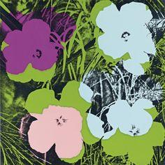Andy Warhol Flowers 1967