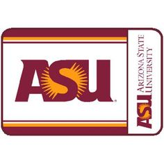Arizona State Sun Devils NCAA Welcome Mat (20x30)