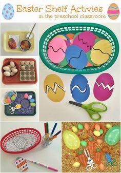 Easter Shelf Activities