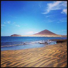 Playa de El Médano in Granadilla de Abona, Canarias