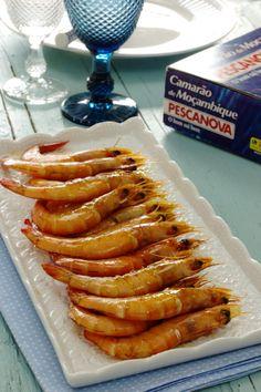 Cinco Quartos de Laranja: Camarão de Moçambique no forno Appetizer Dips, Appetizer Recipes, Fish And Seafood, Seafood Recipes, Carne, Sausage, Bacon, Oven, Food And Drink