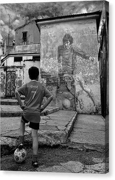 Belfast Boy In Memory Of George Best Canvas Print / Canvas Art by Donovan Torres Fifa Football, Football Soccer, Pure Football, Football Tattoo, Messi Y Ronaldinho, Neymar, Street Football, Argentina Football, Soccer Photography
