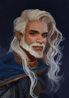 Elf Characters, Dungeons And Dragons Characters, Fantasy Characters, Fantasy Portraits, Character Portraits, Fantasy Artwork, Fantasy Character Design, Character Design Inspiration, Character Art