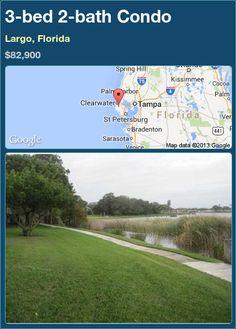 3-bed 2-bath Condo in Largo, Florida ►$82,900 #PropertyForSale #RealEstate #Florida http://florida-magic.com/properties/91229-condo-for-sale-in-largo-florida-with-3-bedroom-2-bathroom