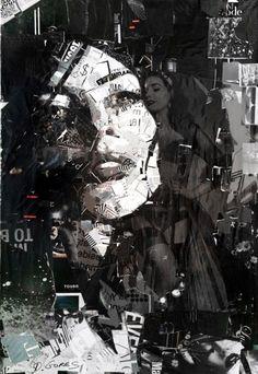 Exclusive Collage Portrait Art Works (16)