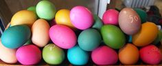 I have a problem.  Every single year a couple of days before Easter I tell myself I won't go crazy on the egg-dying.  And every year I go nuts.  I remember sitting at our big old trestle table when I was a kid and decorating for hours.  My Mom is not a do-the-holidays-halfway...Read More »