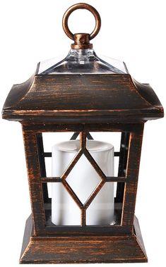"New Black Metal Decorative Nautical Style Tea Light Candle Lantern~4/""X7/"""