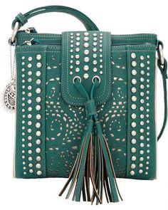 f516f43f93 Bandana by American West West Mesa Organized Crossbody Bag Purse Handbag
