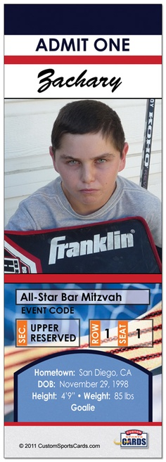 Bar Mitzvah Come and Celebrate!