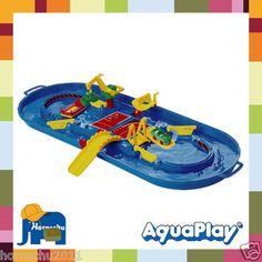Aquaplay Wasserbahn Wasserspiel Wasserspielzeug Aquabox Reisebox 507 18 Teilig  ebay 540,-kr ca
