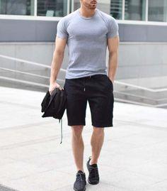 cool casual // urban men // city boys // mens fashion // casual wear // running short // mens short // athletic // sportswear //