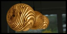 3D Printed Unique Fingerprint Lamps