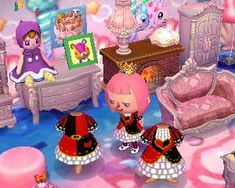 Red Queen Alice in Wonderland ACNL Animal Crossing New Leaf Qr Code