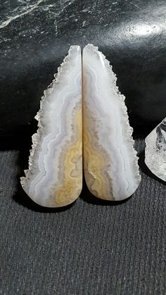 Prudent Man Plume Agate with Druzy edge. Lapidary by Cyndi Wolke