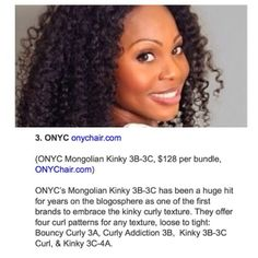 We are so honored to be mentioned by @EBONY Magazine as one of the top real looking extension brands for natural hair! Thank you to all our ONYC beauties for the love and support you have given us. #onyc #onychair #onyckinky #ebonymag #natutalhair #featured #besthair #reallookinghair #hairextensions