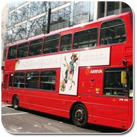 Advertising on Bus T-Sides | Double Decker T Sides | Transportmedia | London | UK