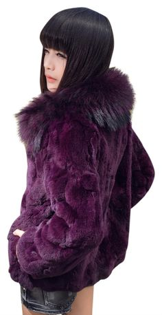 Geniune rabbit fur, fox fur coat. Very unique. New , never worn.  |  Tradesy is the leading used luxury fashion resale marketplace | 100% AUTHENTIC, OR YOUR MONEY BACK | We have a zero-tolerance policy for replicas. Our authentication rate is best in the industry (Stronger than eBay, ThreadUp, The RealReal, Poshmark, Vestiaire, and Worthy), our smart technology automatically detects and removes fakes listed on our site. If you don't feel confident about an item's authenticity, send it to us… Rabbit Fur Coat, Fox Fur Coat, Fur Jacket, Authenticity, Confident, Zero, Luxury Fashion, Technology, Money